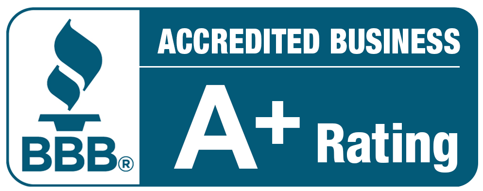 Rated A+ By Better Business Bureau